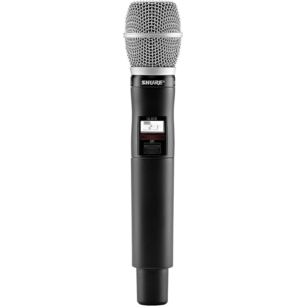 Shure QLX-D Wireless System with SM86 Handheld Transmitter