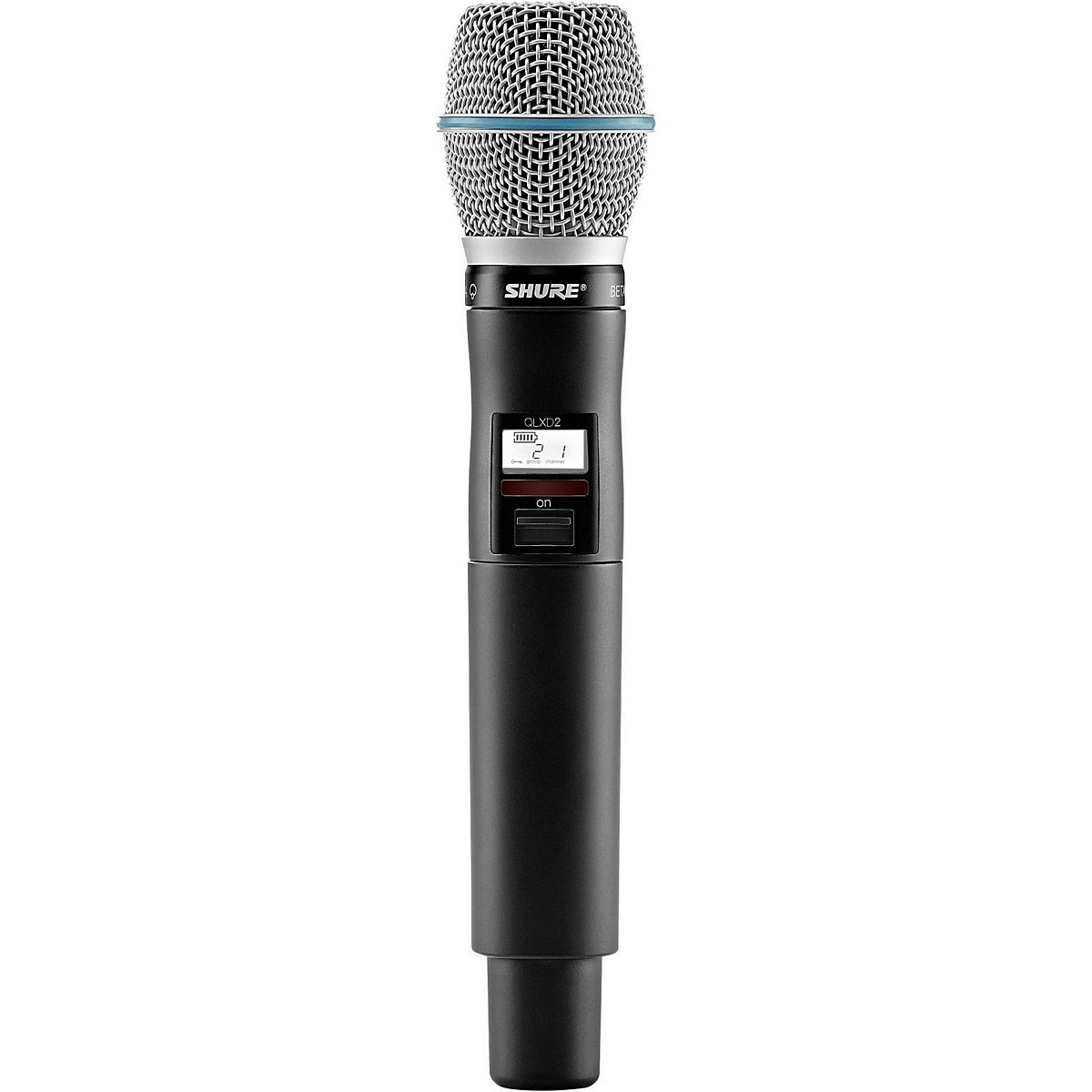 Shure QLXD2/B87C Handheld Wireless Microphone Transmitter