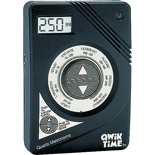 Qwik Time QT-3 Quartz Metronome