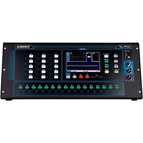Allen & Heath QU-PAC Ultra Compact Digial Mixer with Touchscreen Control