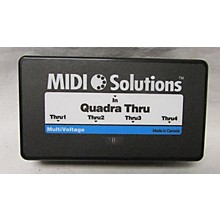 MIDI Solutions QUADRA THRU MIDI Interface