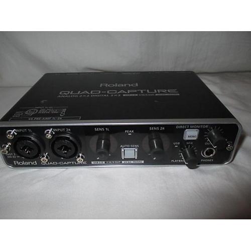 used roland quadcapture ua55 audio interface guitar center. Black Bedroom Furniture Sets. Home Design Ideas