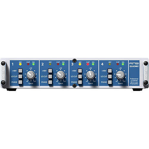 RME QuadMic II 4-Channel Microphone Preamp