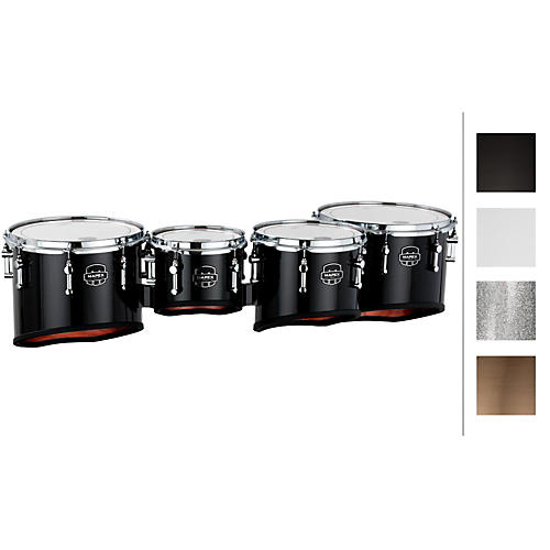 Mapex Quantum Marching Tenor Drums Quad 8, 10, 12, 13 in.
