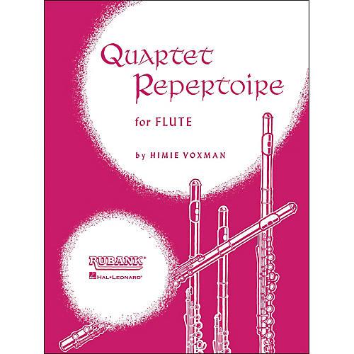 Hal Leonard Quartet Repertoire for Flute (First Flute)