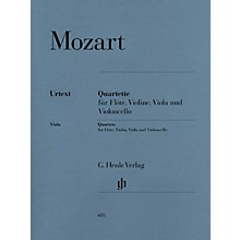 G. Henle Verlag Quartets for Flute, Violin, Viola, and Violoncello Henle Music by Wolfgang Amadeus Mozart