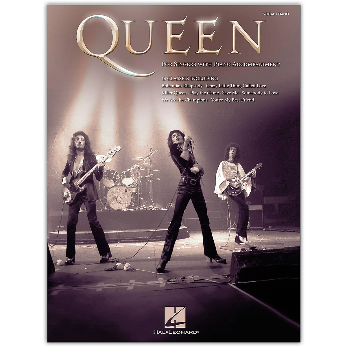 Hal Leonard Queen - For Singers with Piano Accompaniment