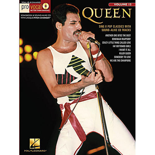Hal Leonard Queen - Pro Vocal Men's Edition Volume 15 Book/CD