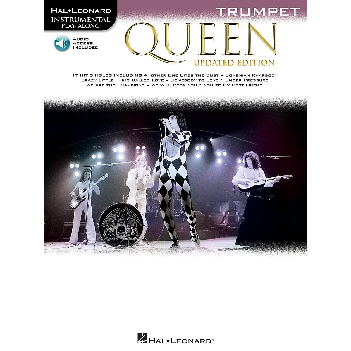 Hal Leonard Queen - Updated Edition Trumpet Instrumental Play-Along Songbook Book/Audio Online