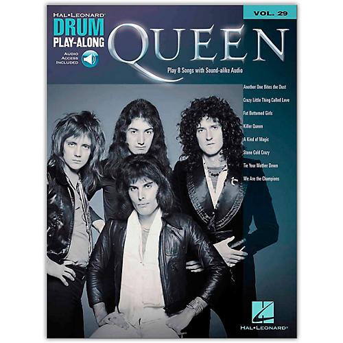 Hal Leonard Queen Drum Play-Along Volume 29 Songbook Book/Audio Online