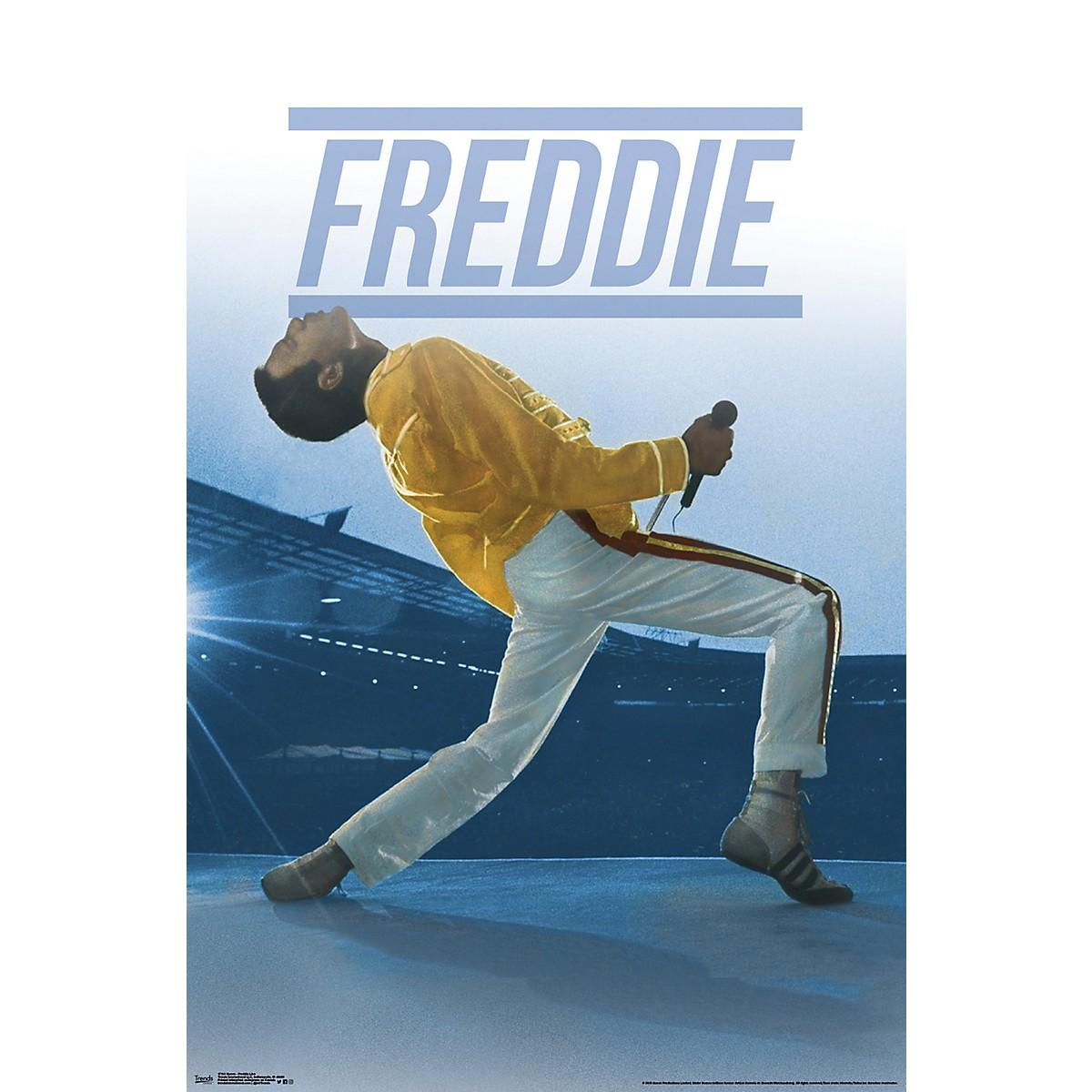 Trends International Queen Freddie Live Poster