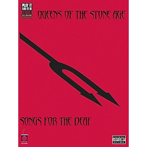 Cherry Lane Queens of the Stone Age - Songs for the Deaf Guitar Tab (Book)