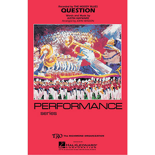 Hal Leonard Question Marching Band Level 4 Arranged by John Wasson