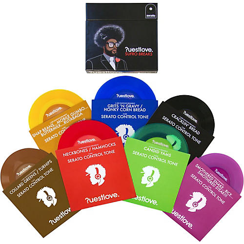 SERATO Questlove Sufro Breaks 7 in. Timecode NoiseMap Control Vinyl Box Set
