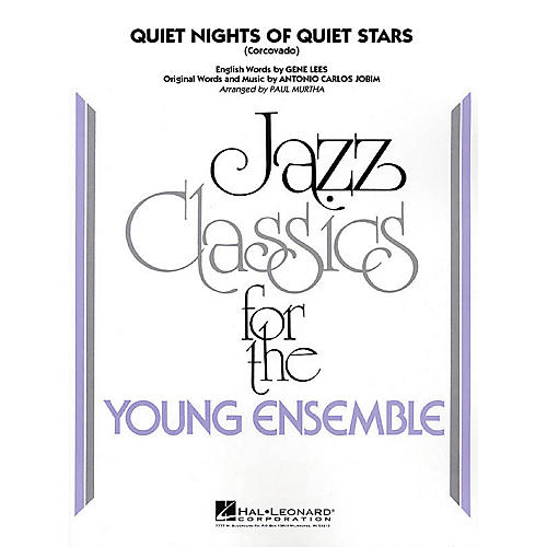 Hal Leonard Quiet Nights of Quiet Stars (Corcovado) Jazz Band Level 3 Arranged by Paul Murtha