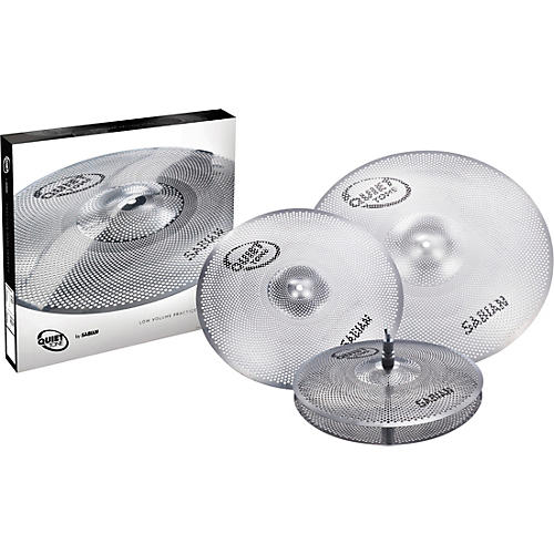 Sabian Quiet Tone Practice Cymbal Set, 14