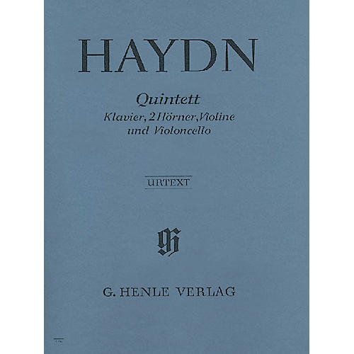 G. Henle Verlag Quintet E Flat Major Hob.XIV:1 Henle Music Folios Series Softcover by Joseph Haydn