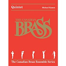 Canadian Brass Quintet (The Canadian Brass Ensemble Series) Brass Ensemble Series by The Canadian Brass