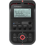 R-07 High-Resolution Audio Recorder with Bluetooth  in Black