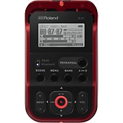 R-07 High-Resolution Audio Recorder with Bluetooth in Red