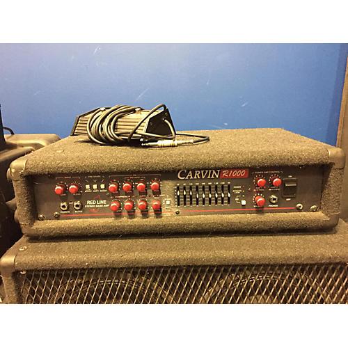 Carvin R1000 Tube Bass Amp Head