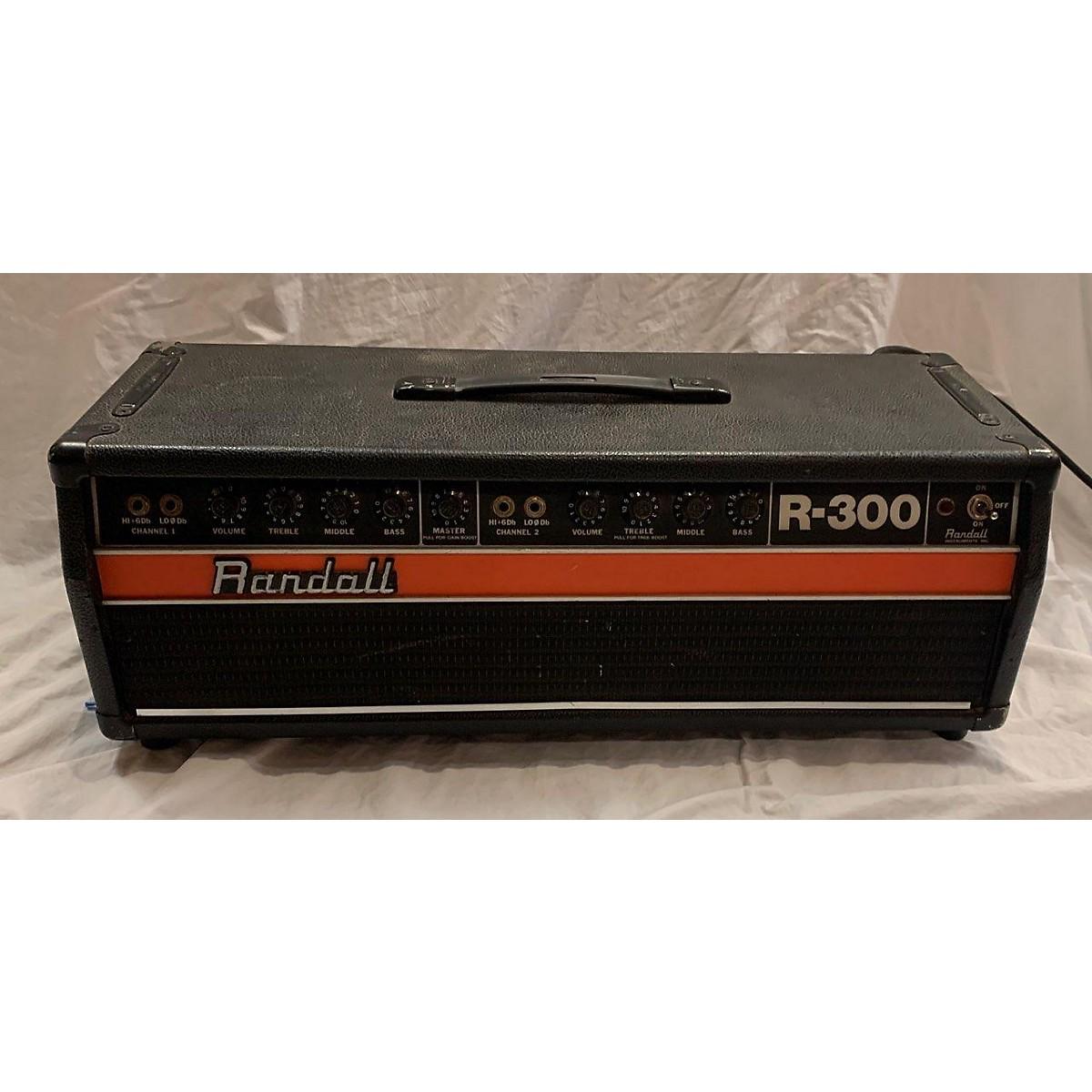 Randall R300 Bass Amp Head