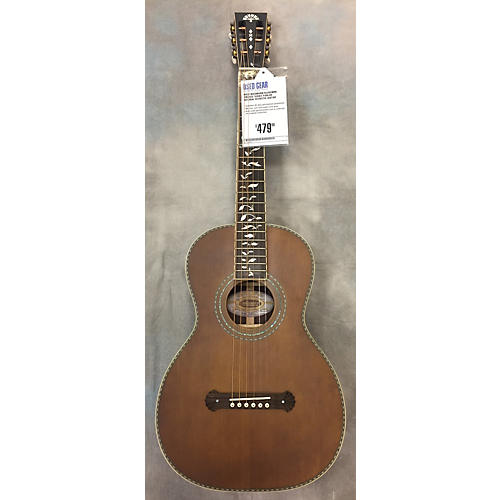 Used Washburn R320swrk Vintage Series Parlor Acoustic Guitar