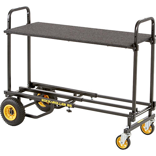 Rock N Roller R6 Mini Cart with Carpeted Shelf