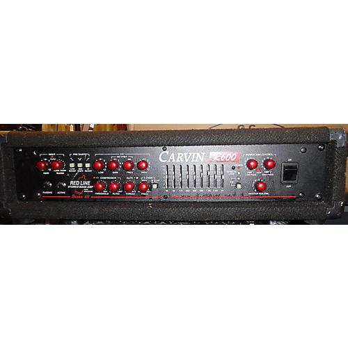 Carvin R600 REDLINE STEREO Bass Amp Head