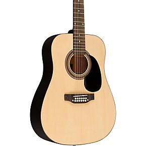 rogue ra 090 dreadnought 12 string acoustic guitar regular natural guitar center. Black Bedroom Furniture Sets. Home Design Ideas