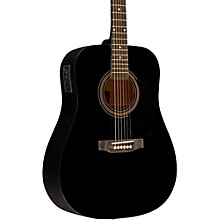 RA-090 Dreadnought Acoustic-Electric Guitar Black