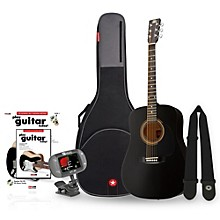 RA-090 Dreadnought Acoustic Guitar Bundle Black