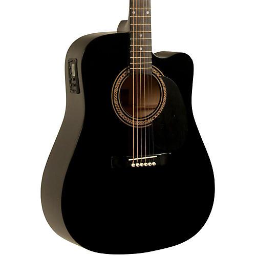 Rogue RA-090 Dreadnought Cutaway Acoustic-Electric Guitar
