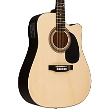 RA-090 Dreadnought Cutaway Acoustic-Electric Guitar Natural