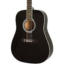 RA-100D Dreadnought Acoustic Guitar Black