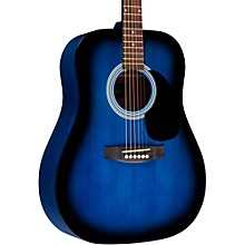RA-100D Dreadnought Acoustic Guitar Blue Burst