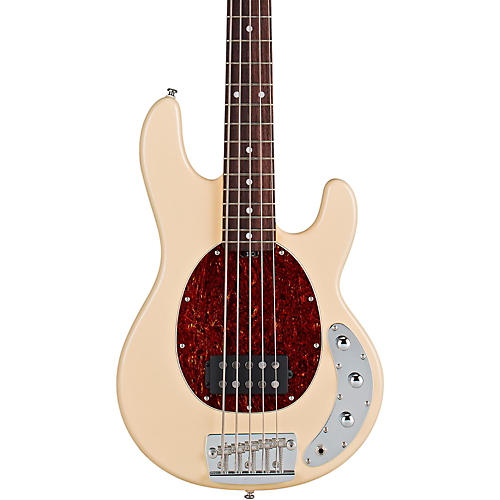 sterling by music man ray35ca 5 string electric bass guitar vintage cream guitar center. Black Bedroom Furniture Sets. Home Design Ideas