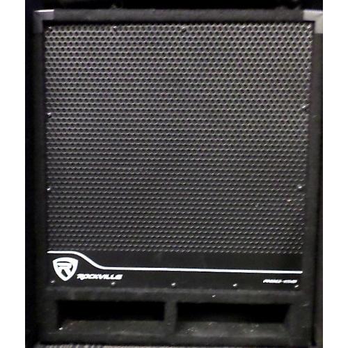 used rockville rbg 15s powered subwoofer guitar center. Black Bedroom Furniture Sets. Home Design Ideas