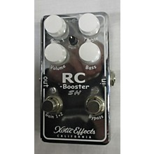 Xotic RC BOOSTER SCOTT HENDERSON Effect Pedal