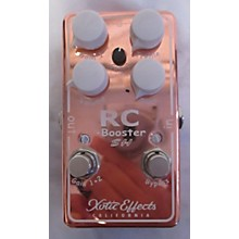 Xotic RC BOOSTER SH Effect Pedal