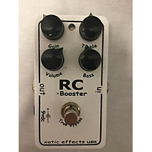 Xotic Effects RC Booster Pedal
