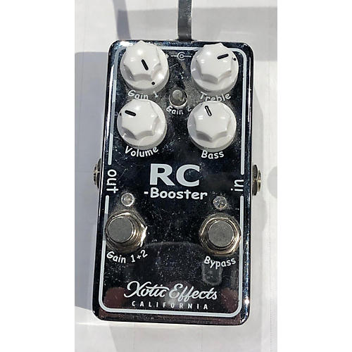 Xotic RC Booster V2 Effect Pedal