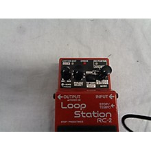 Boss RC2 Loop Station Pedal