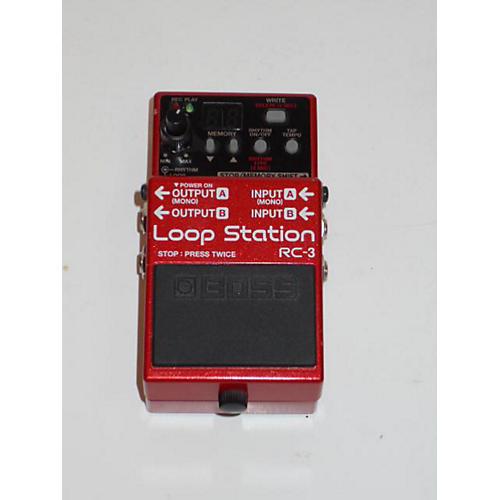 used boss rc3 loop station pedal guitar center. Black Bedroom Furniture Sets. Home Design Ideas