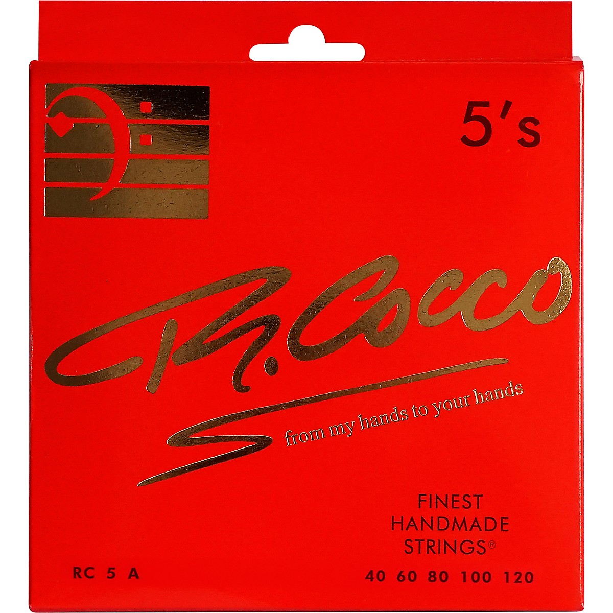 Richard Cocco RC5FATP 5-String Electric Bass Guitar Strings