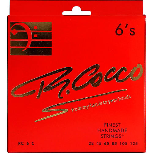 Richard Cocco RC6C 6-String Electric Bass Guitar Strings