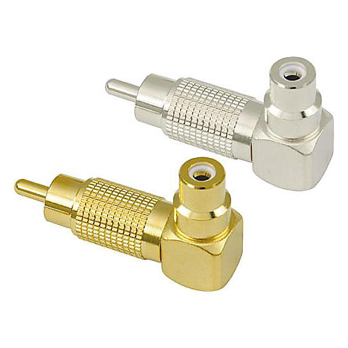American Recorder Technologies RCA Male to RCA Female Right Angle Adapter