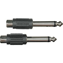 """Livewire RCA(F)-1/4""""(M) Adapter 2-Pack"""