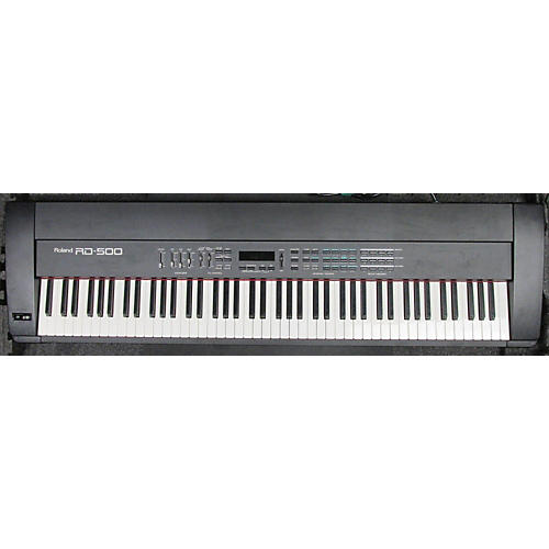 used roland rd 500 with case stage piano guitar center. Black Bedroom Furniture Sets. Home Design Ideas