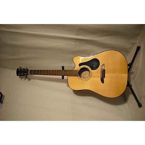 used alvarez rd20sc acoustic electric guitar natural guitar center. Black Bedroom Furniture Sets. Home Design Ideas